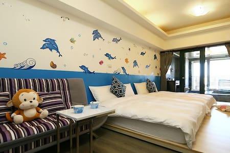 浪漫海洋溫泉湯屋(2-5人) - Jiaoxi Township