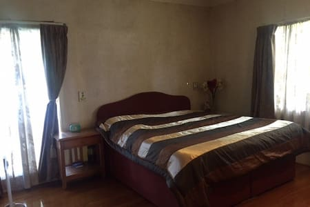 Master Bedroom with large size bed - Auckland