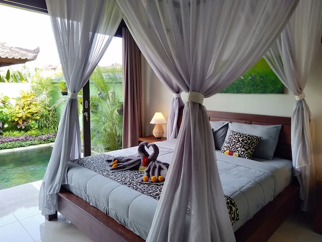 Peaceful 1BR Villa with Private Pool