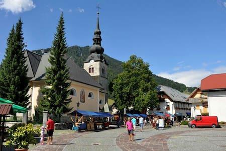 Best location in town - center. - Municipality of Kranjska Gora