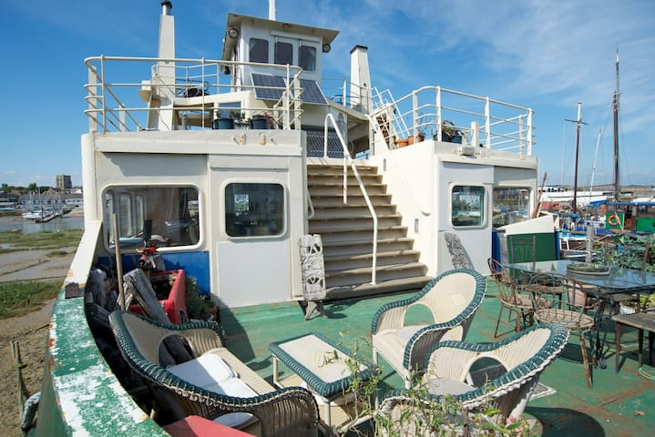 Ever wanted to stay on a ferry?