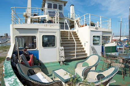 Ever wanted to stay on a ferry? - Shoreham-by-Sea