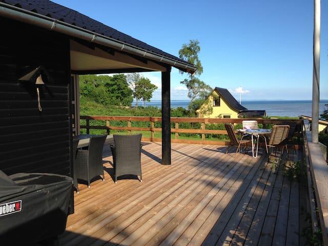 Sommerhus med udsigt over Lillebælt - Haderslev - Mökki