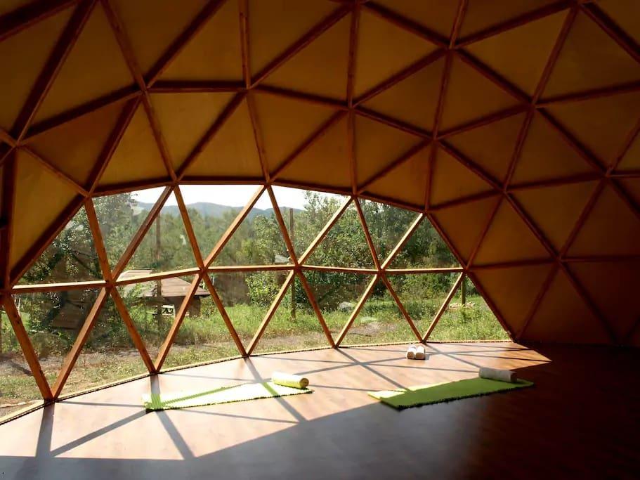 Interior de La Red