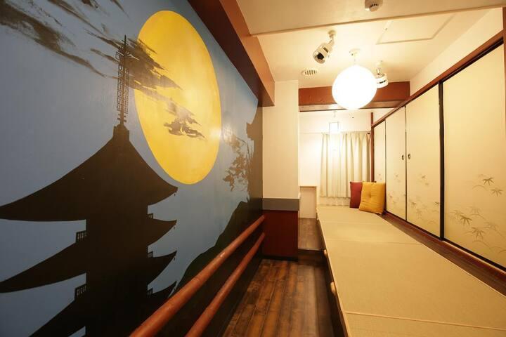 サムライズホステル 池袋 最大2名用ツインルーム