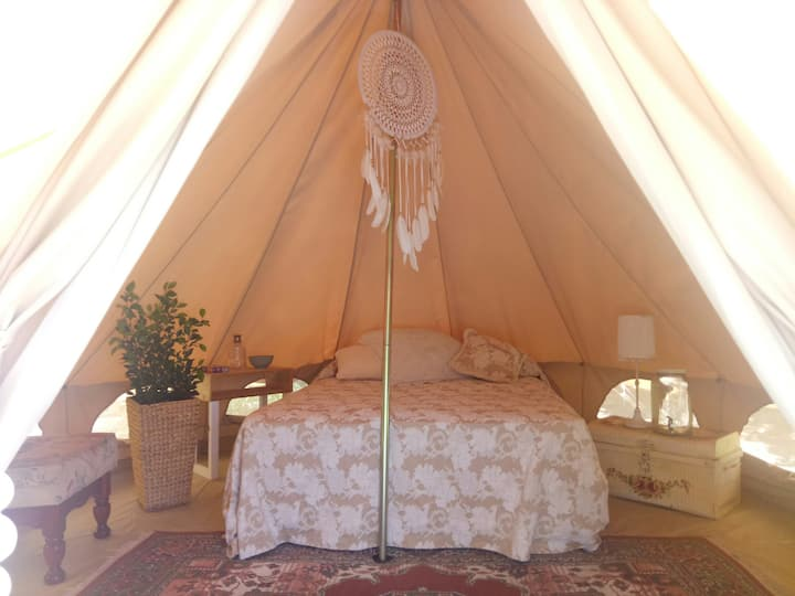 Glamping - Higher Ground Eco Retreat