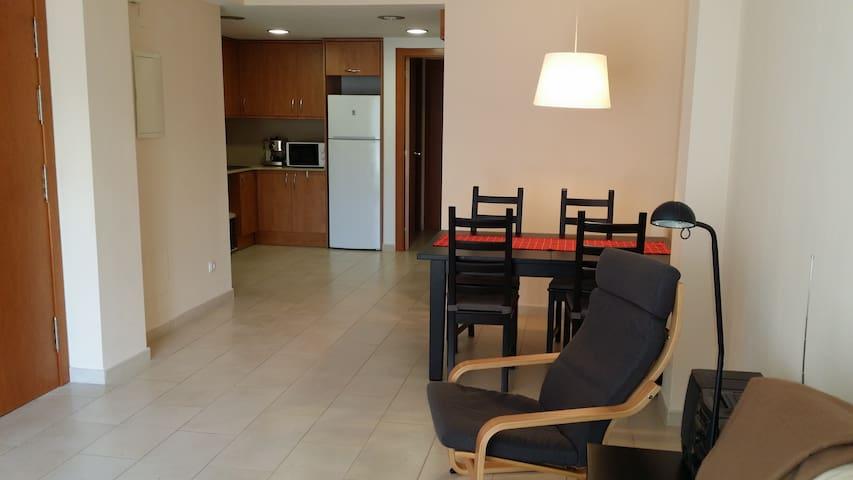 Práctico apartamento de 60 m2