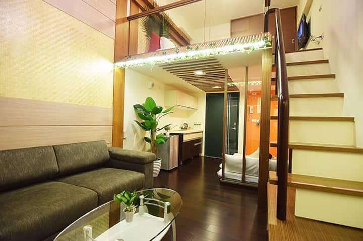 峇厘島2~5人温泉楼中楼