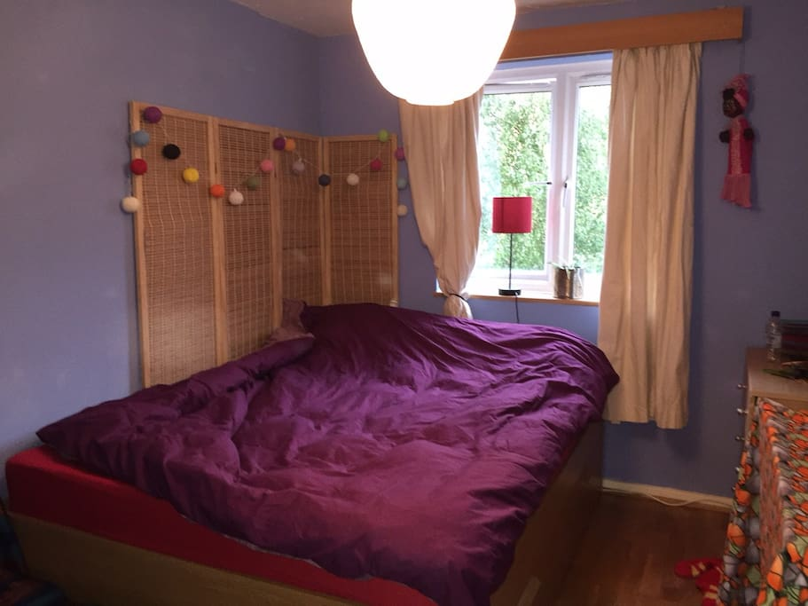 Bedroom, spacious and cosy