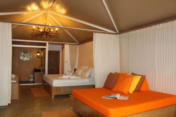 Suite Villa with beautiful view - Mae Hong Son - 別荘