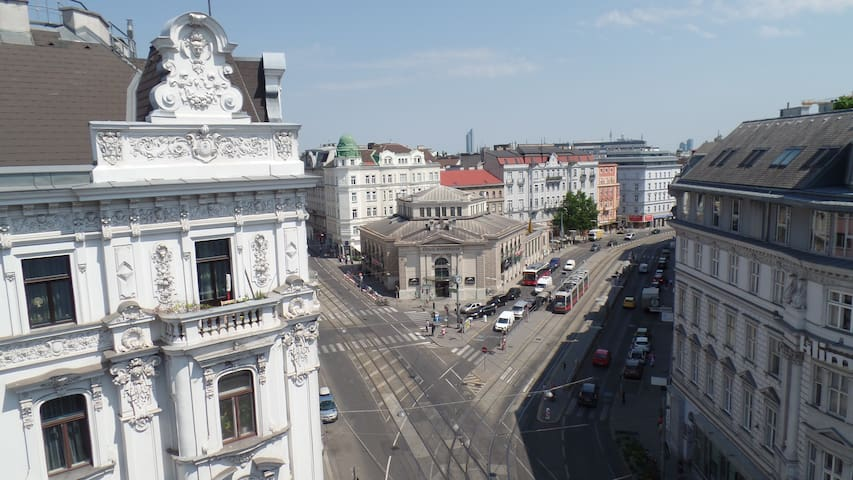 Apartment with patio and roof-decks - Wien - Wohnung