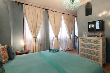 Chambre Turquoise Riad Turquoise