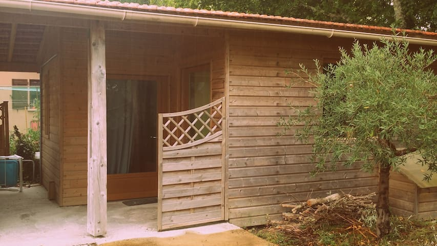 Lacanau - chambre bungalow piscine - Lacanau - Srub