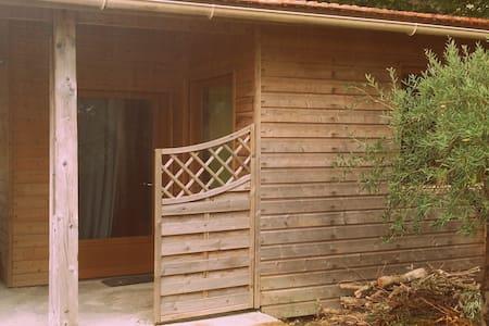 Lacanau - chambre bungalow piscine - Cabin
