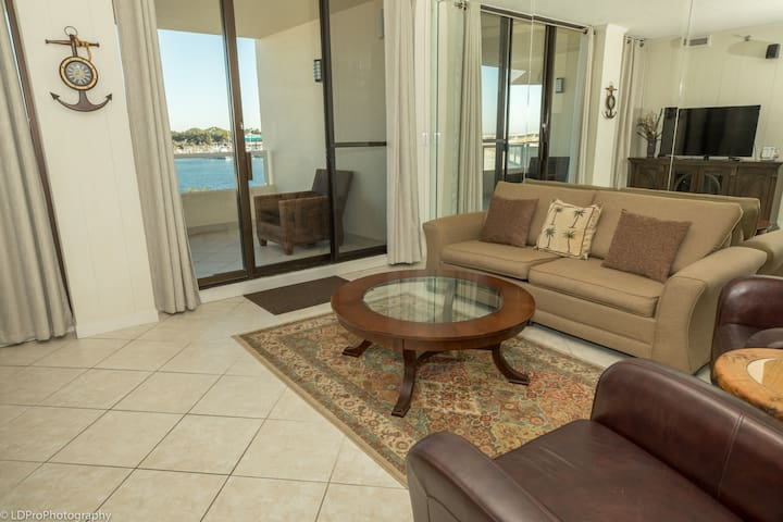 East Pass 305 is a 2 BR on the Pass and absolutely gorgeous - Amazing Sunset Vie