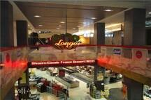Longos grocery store inside the building