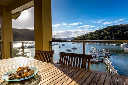 Spectacular views of the Hawkesbury River - Brooklyn