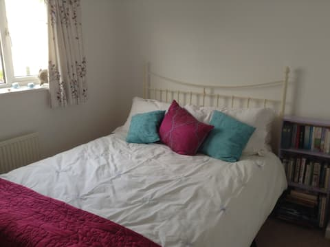 Comfortable ensuite double room in Abergavenny