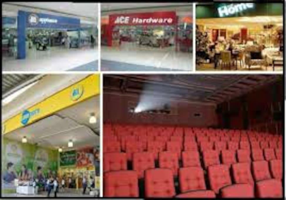 Hypermarker, Cinema, Clinic, BDO, Restaurants, Pharmacy and Shops