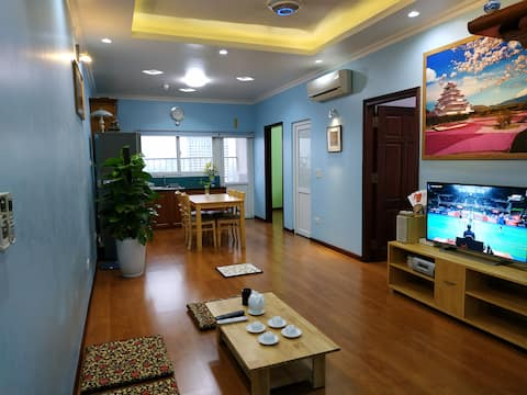 15th floor apartment in Ha Noi center for 4 people