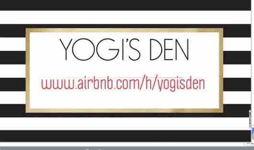 Yogi's Den in downtown Heritage District.