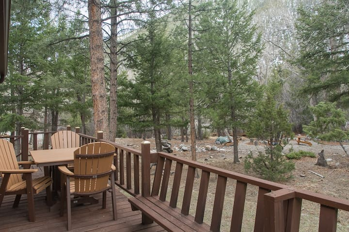NEW LISTING! Peaceful CreekSide Cabin. 14er Views. - Nathrop - Cabin