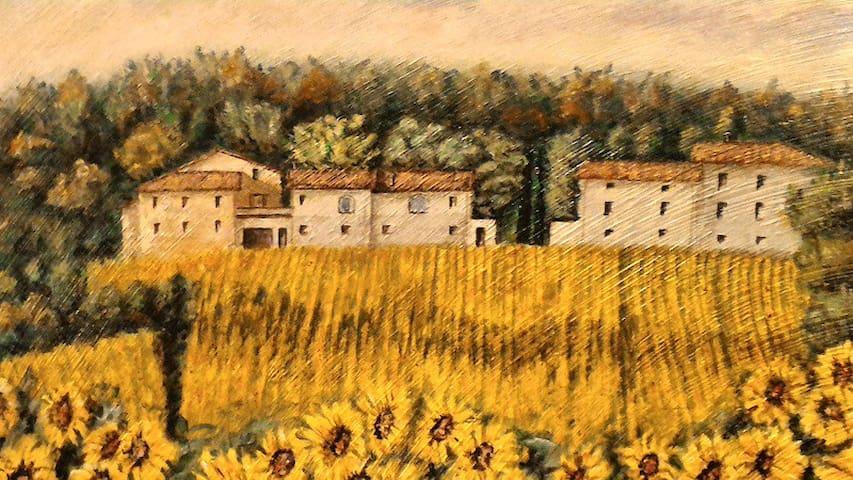 Agriturism Podere Casenove Vista Alta Valle Tevere
