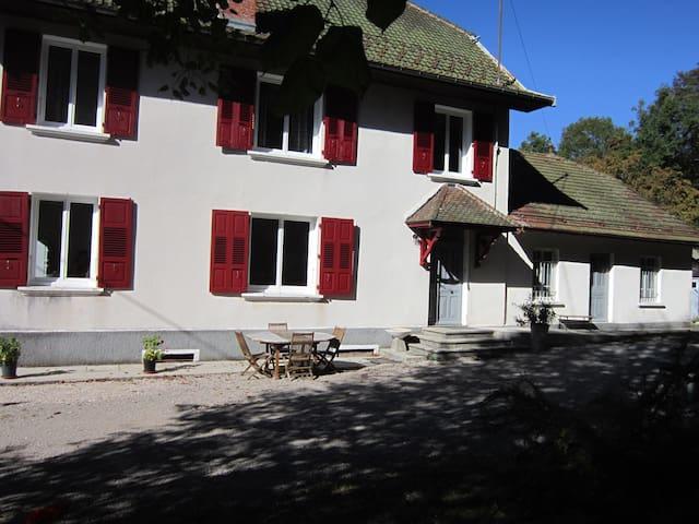 façade avant plein sud