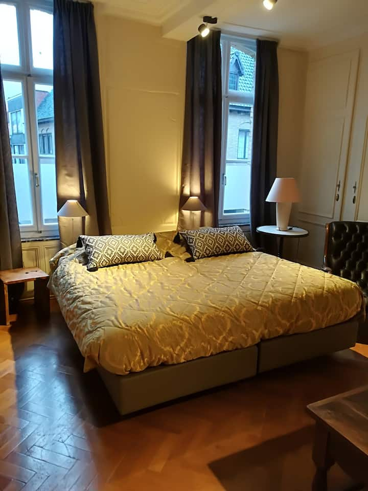 vakantie appartement 4 pers. in historical setting