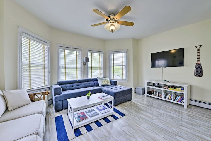 NEW! Nautical Cape May Condo - Walk to the Beach!
