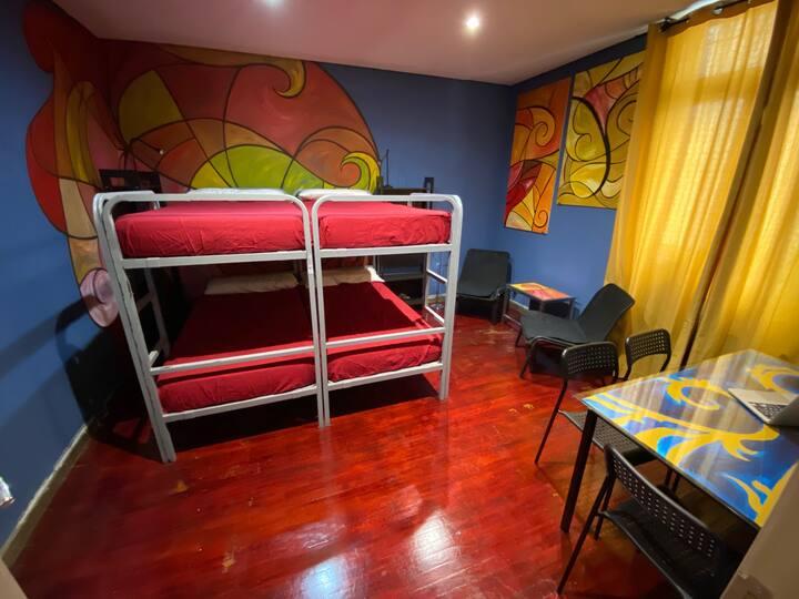HoHabitación Cuádruple Estándar (Room 3)