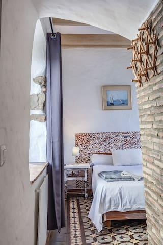Passageway to the bedroom