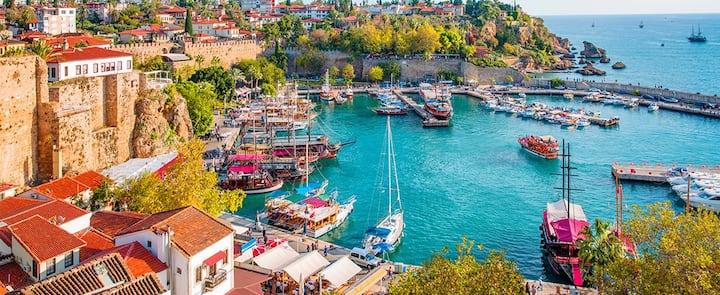 1+1 Apartment in Antalya city center :)
