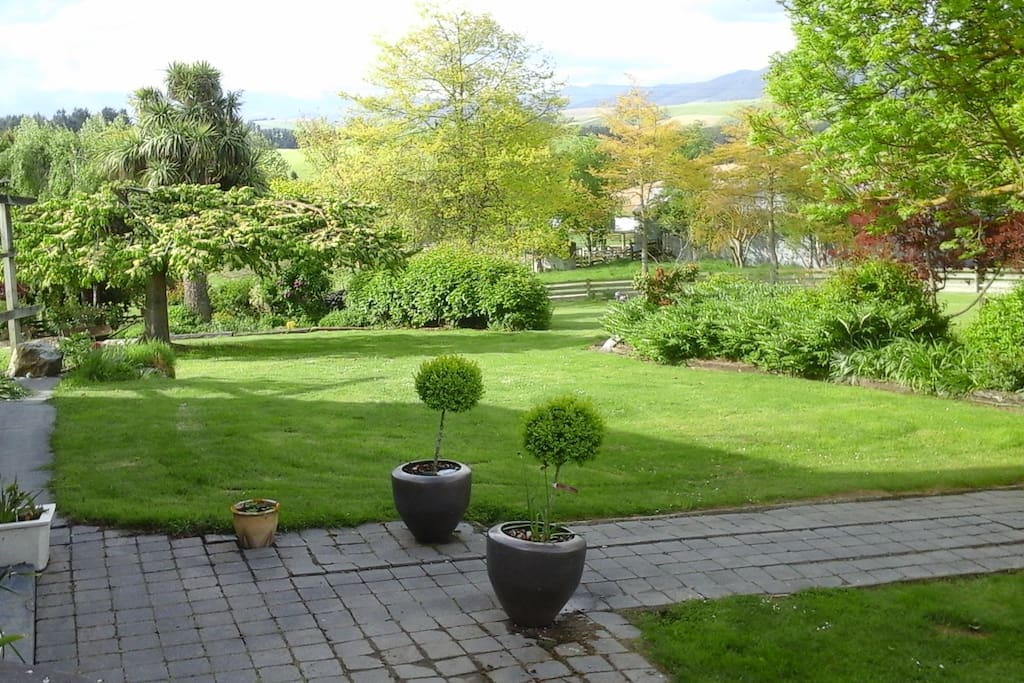 Garden View from Cabin