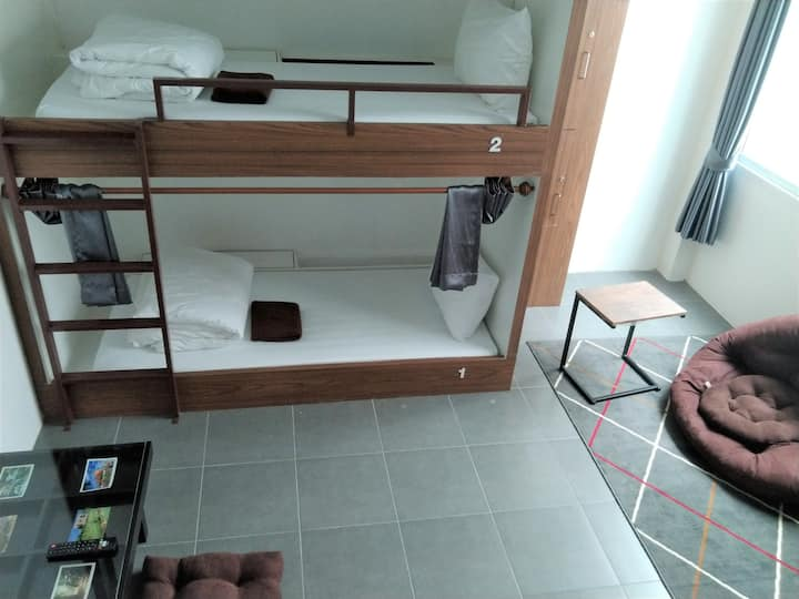 Special Room for 4 Persons(Bunk Bed)