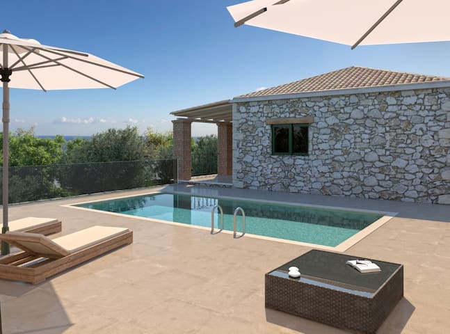 Villa Helona with private pool