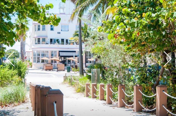 SWEET OCEAN STUDIO @ THE BEACH - Miami Beach - Apartemen