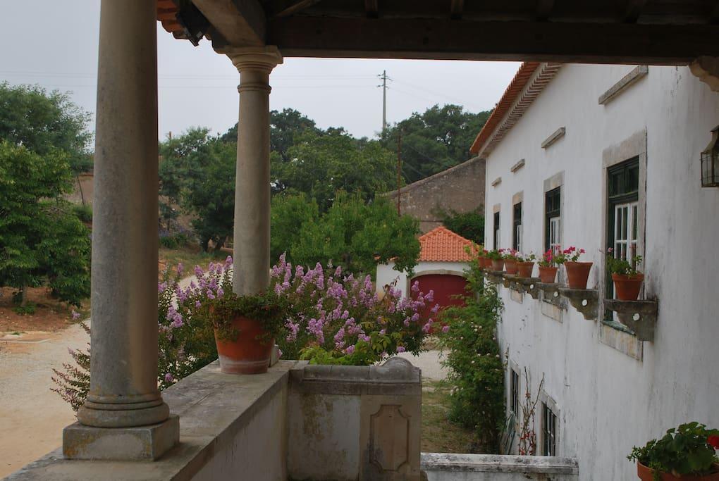 Varanda Casa Principal