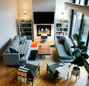 Dreamy & Refined Wicker Park Loft - Chicago - Loft