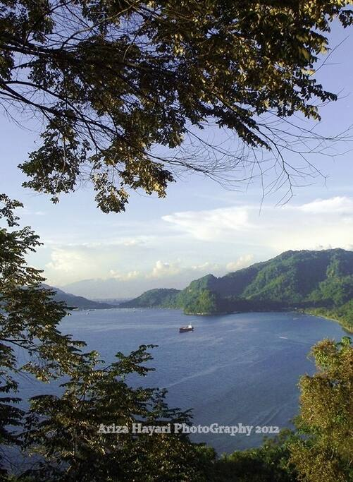 Landscape to Teluk Bayur Port 7 Km