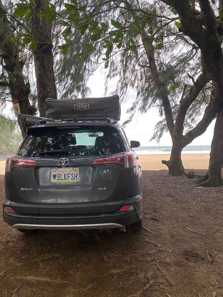 2016Toyota Rav4 Tepui Roof TopTent & Camping Gear