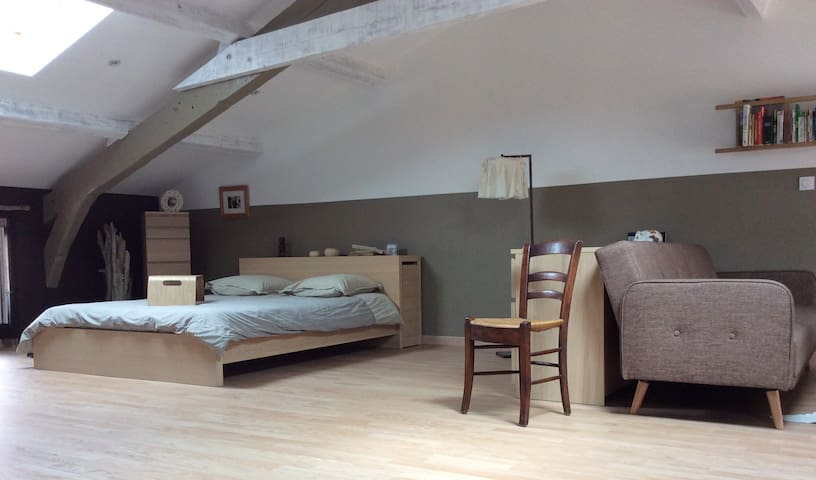 Chambre cosy chez l'habitant - Le Cheylard - Rumah