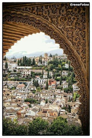 Sierra Nevada-Alhambra-Cahorros-Granada - Monachil - Flat