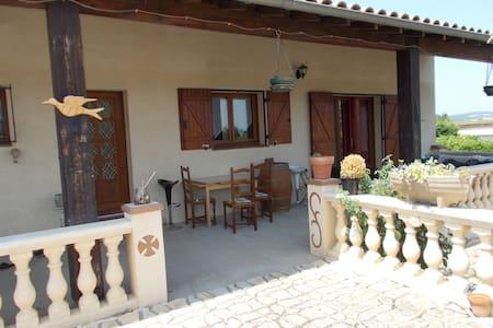 Chambre dans maison proche Limoux - Lauraguel