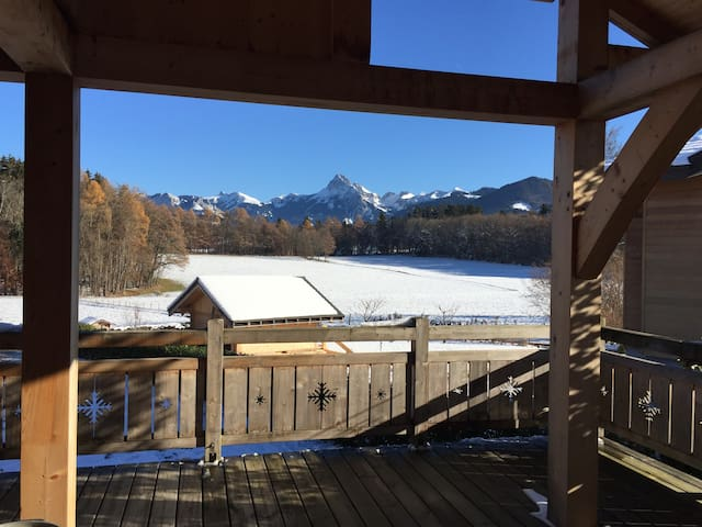 """ Chalet Ours ""   Appartement Ski & Spa"