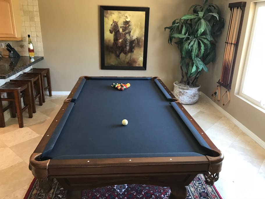 If you cheat at pool, the cowboy will know.