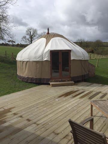 Yurt on a hill - Yurt