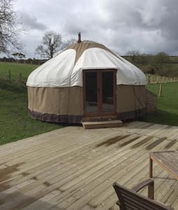 Yurt on a hill - Khemah Yurt