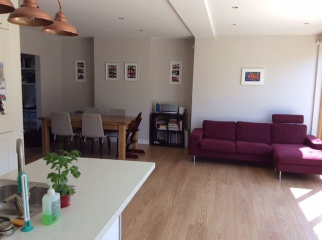 Light filled family home in Dalkey - Dalkey - Huis