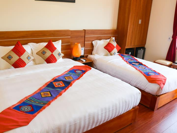 Deluxe Twin Room - Sapa Garden Hotel